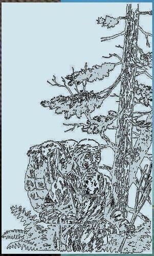Иллюстрации к книге В.К.Арсеньева Дерсу Узала