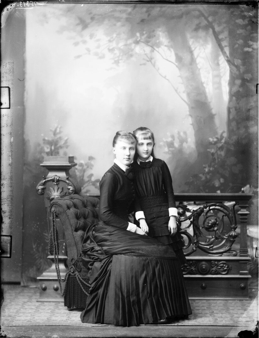 1882. Луиза и Елизавета Саксен-Альтенбургские