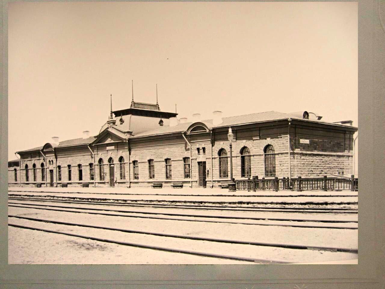 22. Пассажирское здание на станции Актюбинск