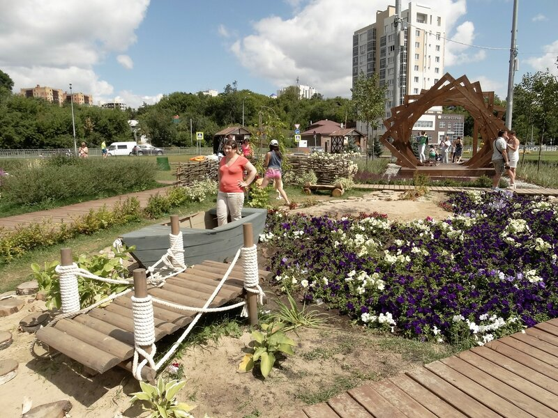 Цветочный фестиваль 2016, Казань