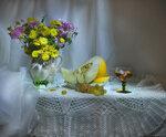 ...хризантем осенняя усталость...