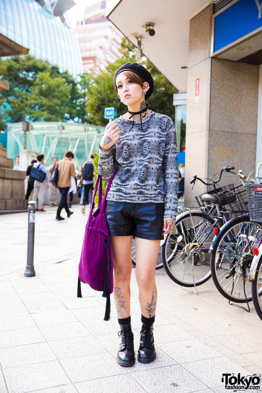 Модные персонажи на улицах Токио (27.12.16)