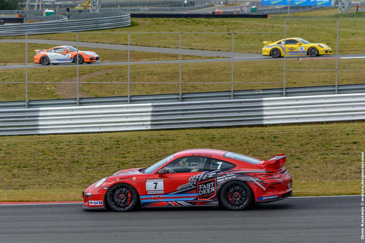 Porsche Sport Challenge - Moscow Raceway 2015