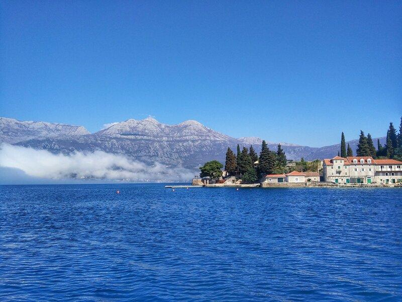 Херцег-Нови и Мамула - на яхте в Черногории