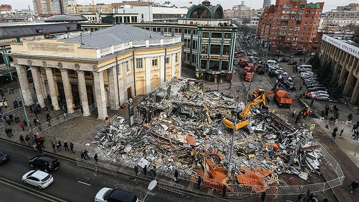 Территория после сноса в Москве самостроя будет благоустроена