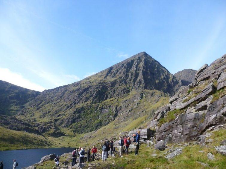 Карантуилл самая высокая гора в Ирландии