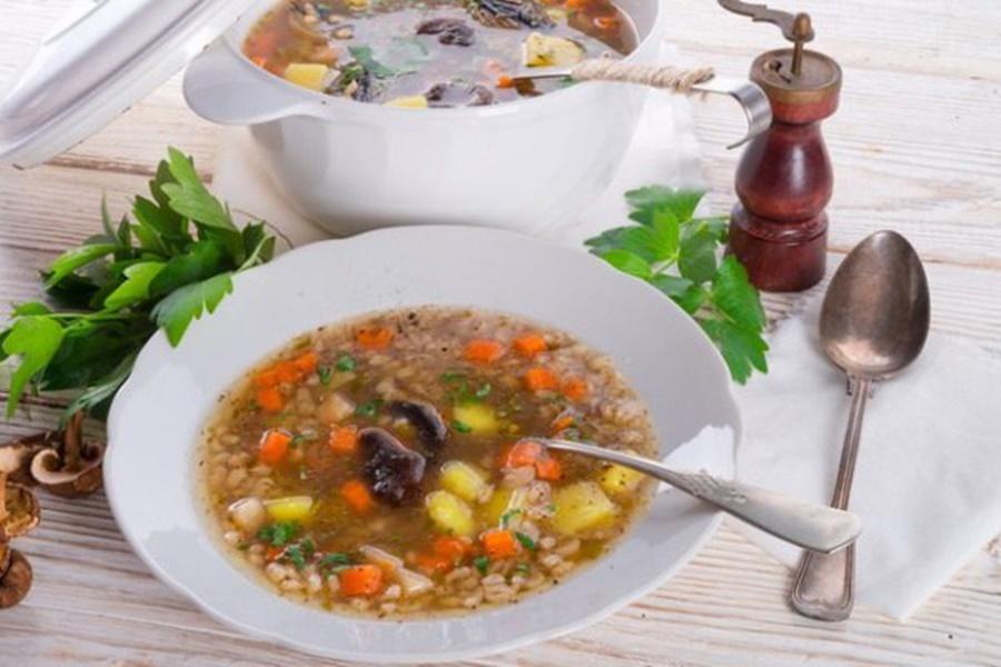 Польский перловый суп