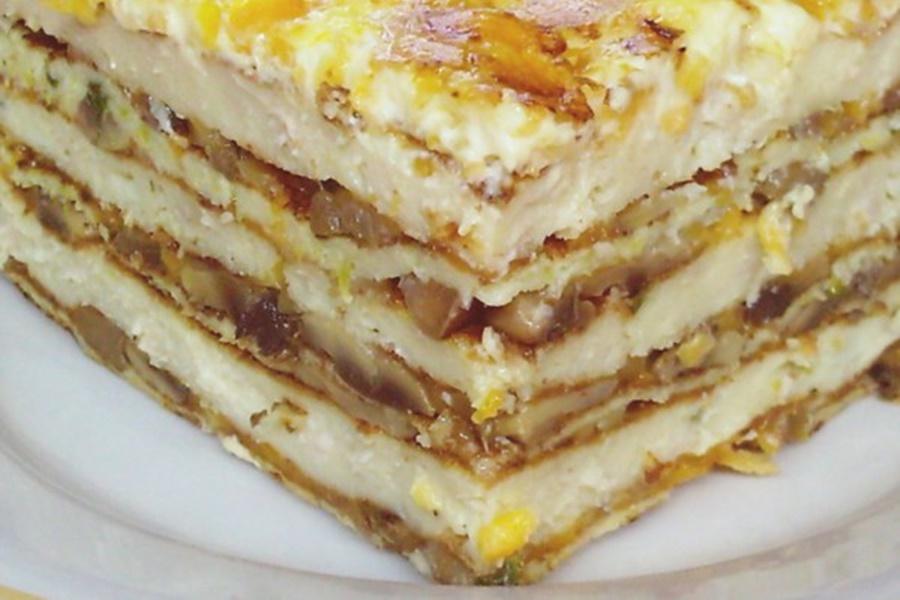 Закусочный пирог