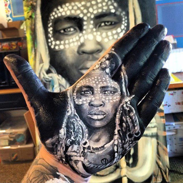 10. Портрет африканской девушки