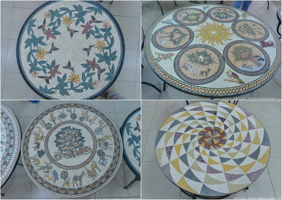 26. На самом деле есть мозайки на любой вкус. Такой бы столик на дачу.