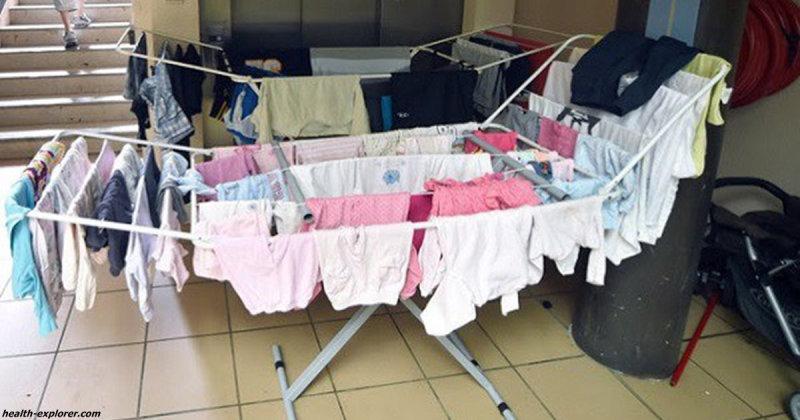Например, недавно один мужчина из Болтона заразился лёгочной инфекцией из-за того, что сушил одежду