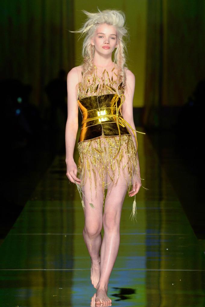 Неделя высокой моды в Париже: Jean Paul Gaultier весна 2017