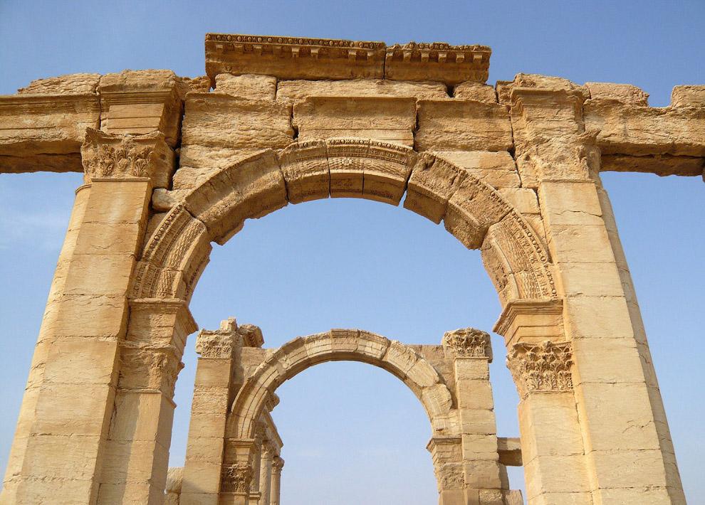21. Пальмира, 14 марта 2014. (Фото Joseph Eid):