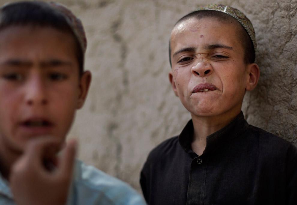 Школьный класс, Афганистан, 21 сентября 2008. (Фото AP Photo | Anja Niedringhaus):
