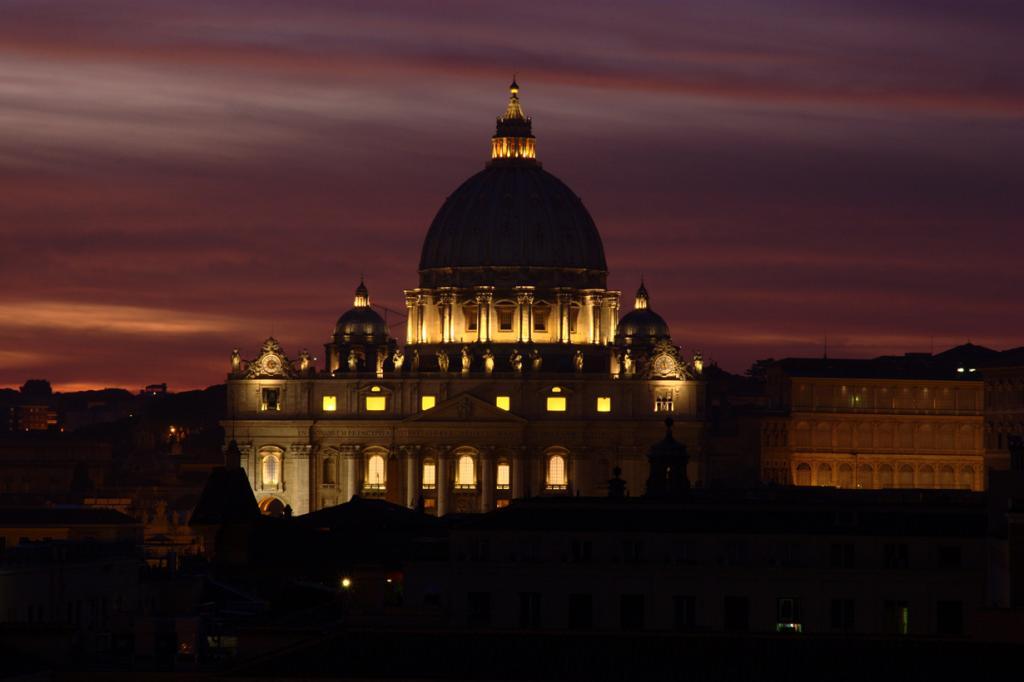 Ватикан. Собор Святого Петра. (Scott Sherrill-Mix)