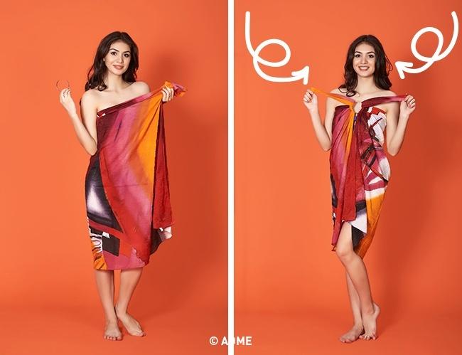 Платье, подчеркивающее талию