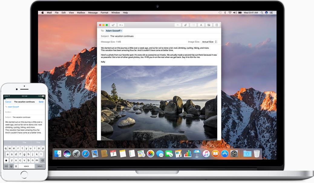 Apple выпустила macOS Sierra 21.09.2016 12:40