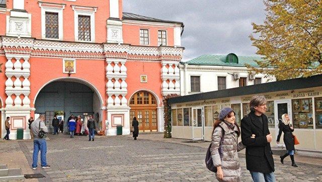 ВДаниловском монастыре в российской столице ищут бомбу