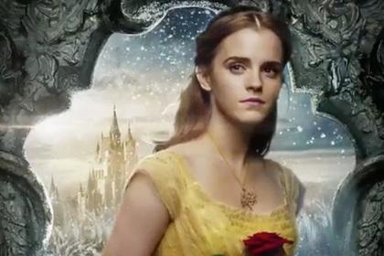 Disney продемонстрировал анимированные постеры к кинофильму «Красавица иЧудовище»