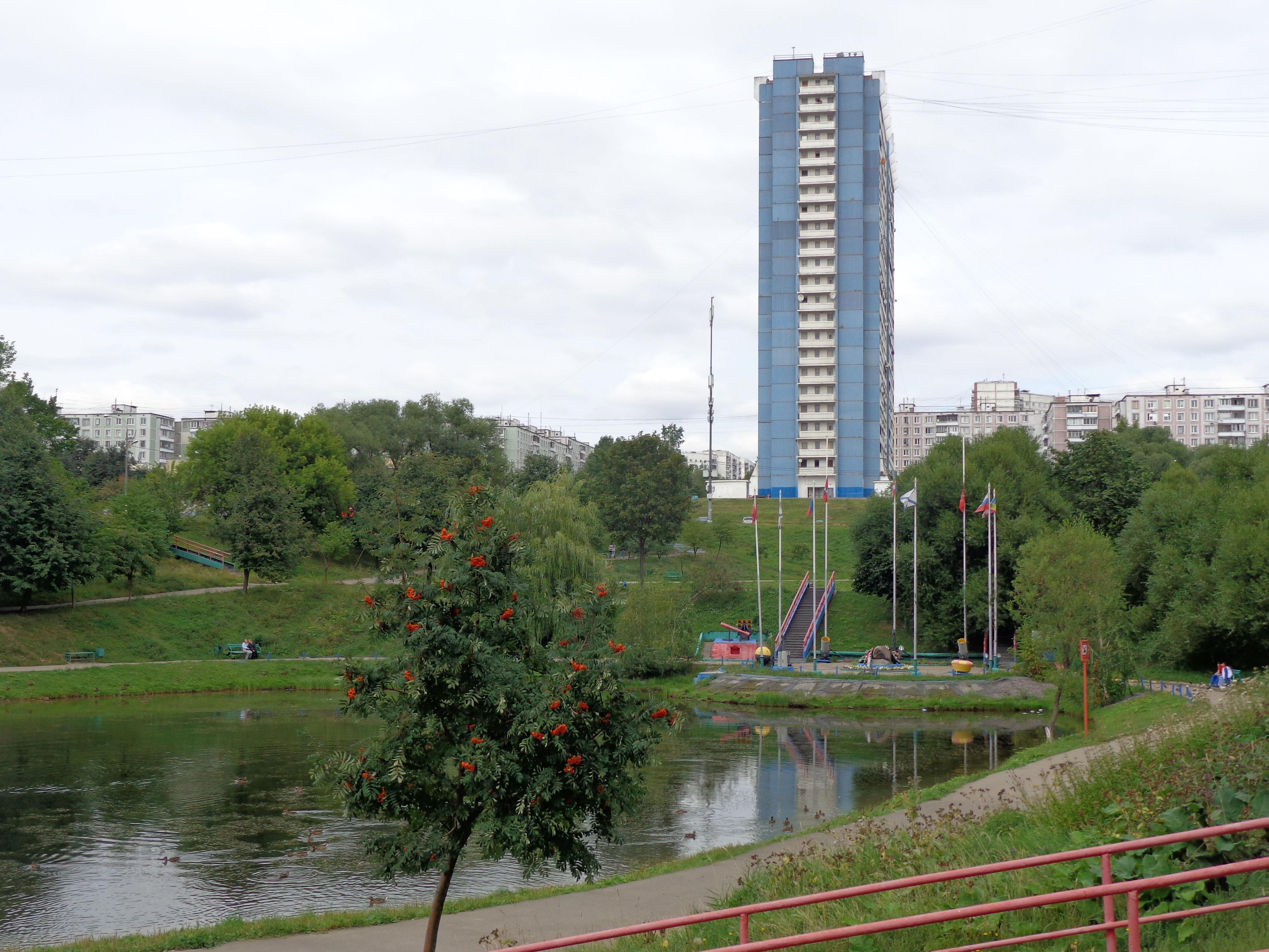 Москва, Ул. Паустовского