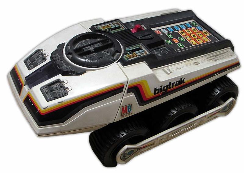 «Планетоход Электроника» — программируемая игрушка, ей можно задать маршрут из 16 различных комбинаций, 1980 год