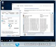 Windows 10 Enterprise 14393.693 v.1607 by IZUAL v.11 (x64) (2017) [Русская]