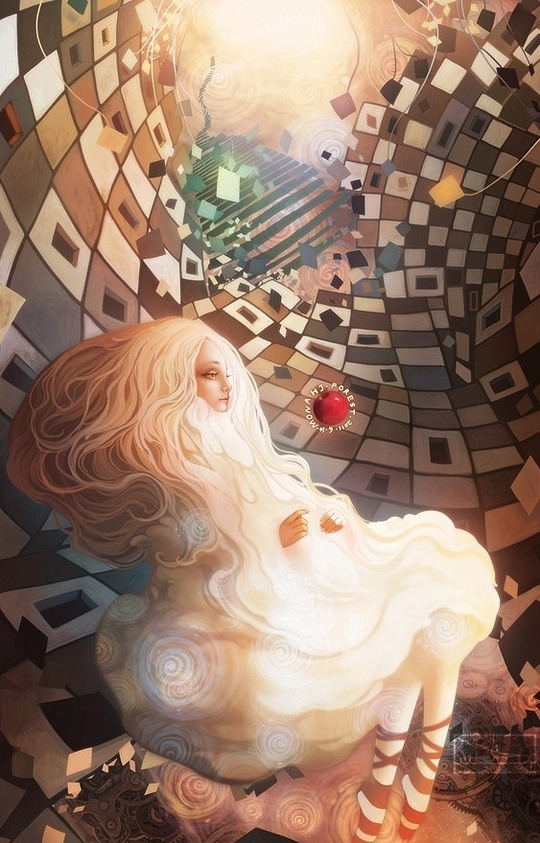 Digital Illustrations by Jie He
