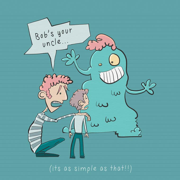 Les expressions anglaises expliquees avec des illustrations amusantes