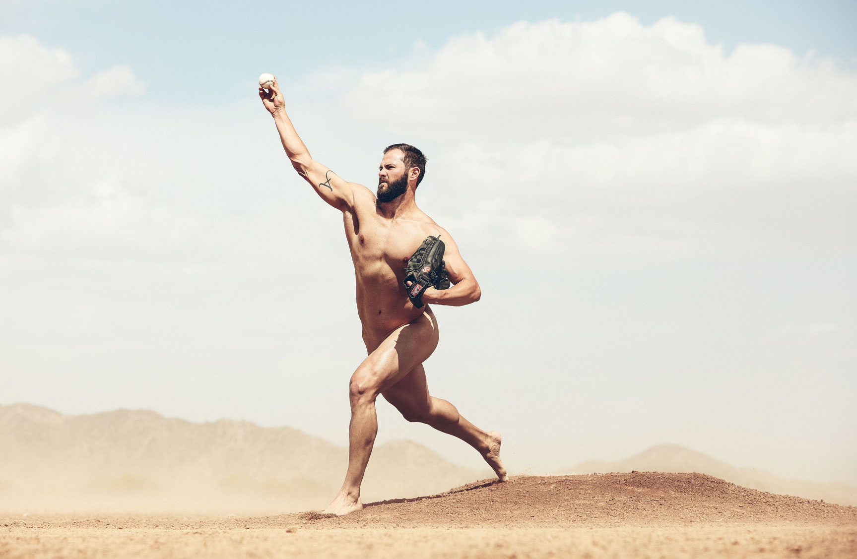 ESPN Magazine The Body Issue 2016 - Jake Arrieta / Джейк Арриета - Культ тела журнала ESPN