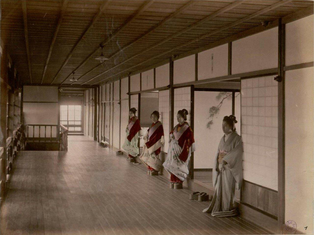 Иокогама. Бордель Нектарин. Интерьер