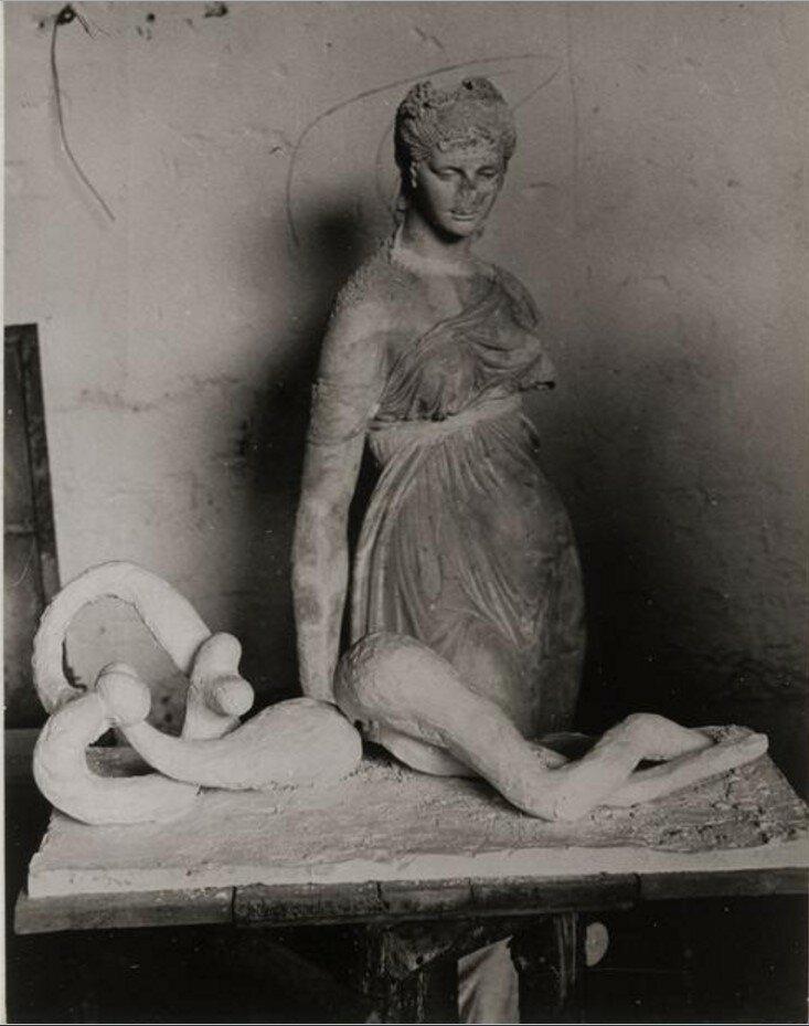 1932. Купальщица. В мастерской Пикассо в Буажелу