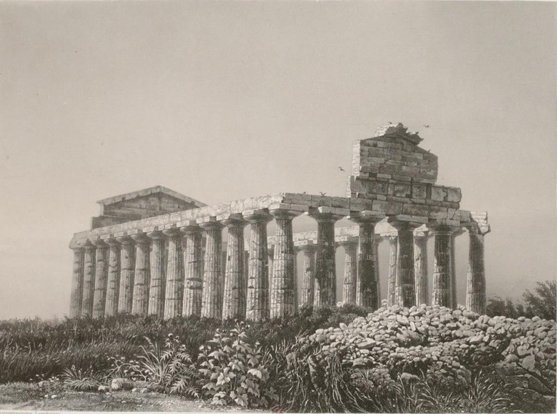 Италия. Пестум. Храм Геры-I