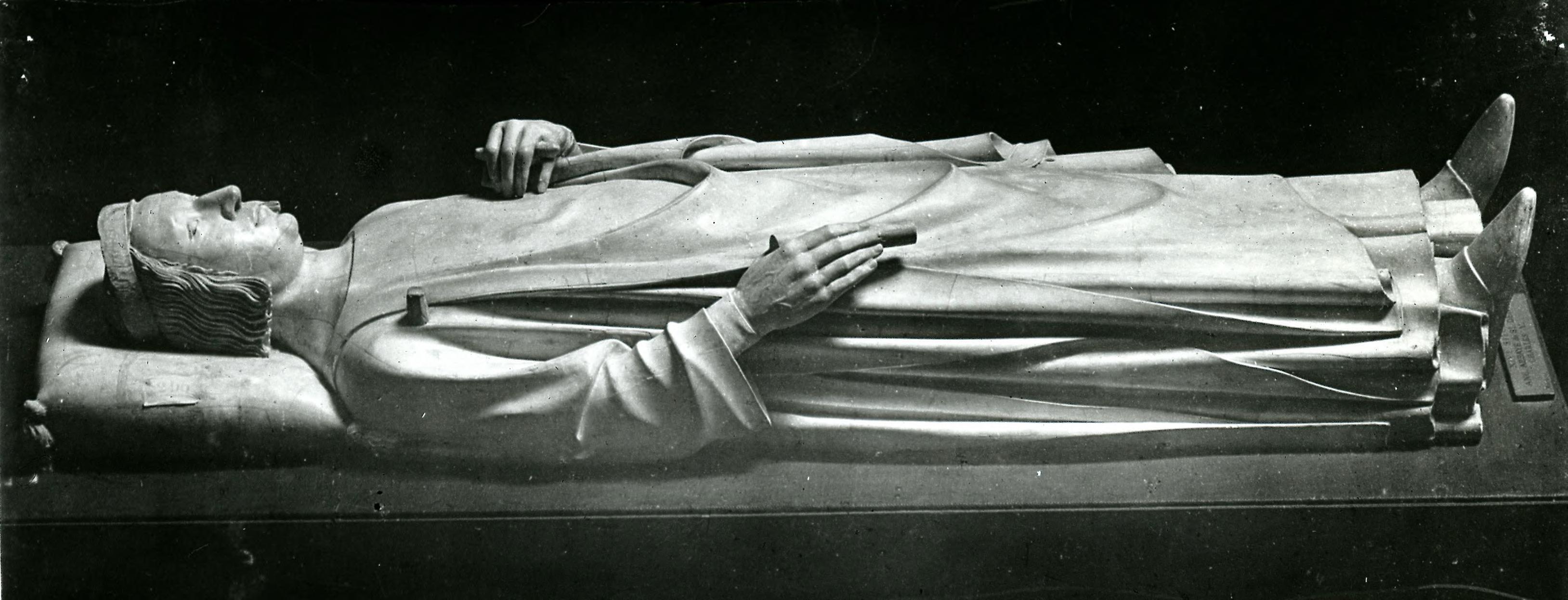 Аббатство Сен-Дени. Статуя Карла V. 1132-1144