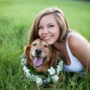 Девушка и пес