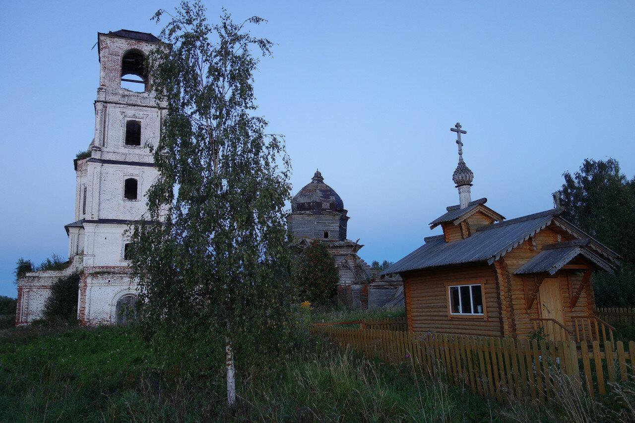храмы села Ухтома
