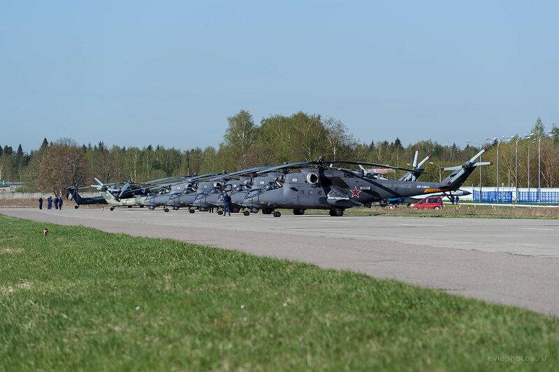 Миль Ми-35М (RF-13014 / 69 белый) ВКС России D803118a