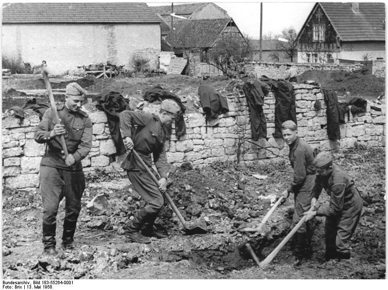 Nettelstedt, Sowjetsoldaten, Wiederaufbau einer LPG