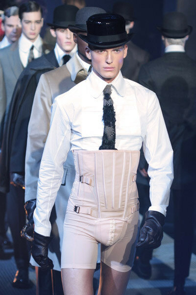 John Galliano - Paris Fashion Week Menswear A/W 2010