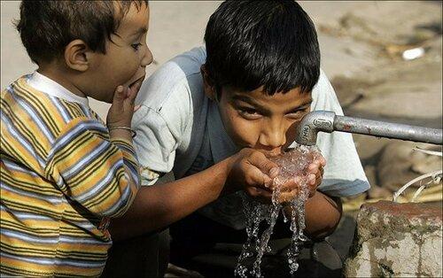 Вода в Индии загрязнена опасными для человека токсинами