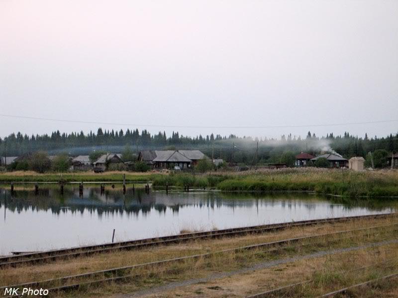 Пруд в Ельничной