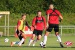 Спартак провел первую тренировку в Австрии