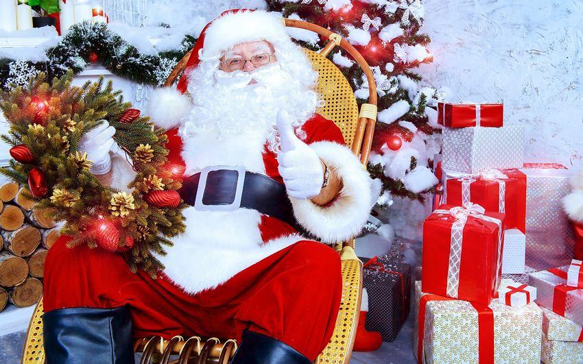 Дед мороз, санта клаус, картинки