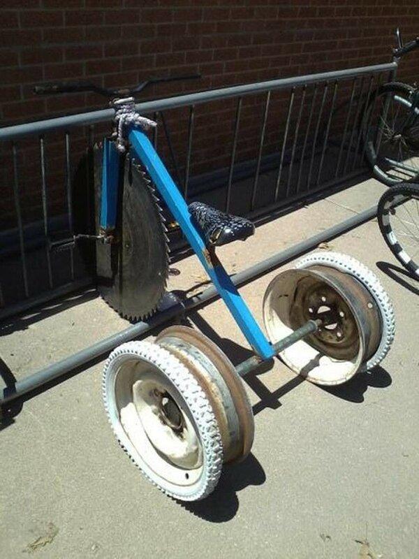 0 1e883b cc7181fe XL Доказательства тяжелой жизни велосипедистов в городе: фото и видео