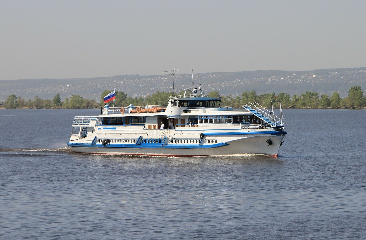 Казань. Речной порт