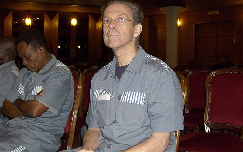 14. Симон Манн, бывший офицер британской армии, был экстрадирован в Экваториальную Гвинею из Зимбабв