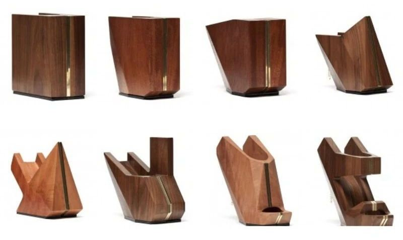 Коллекция обуви из дерева.  Корни деревьев