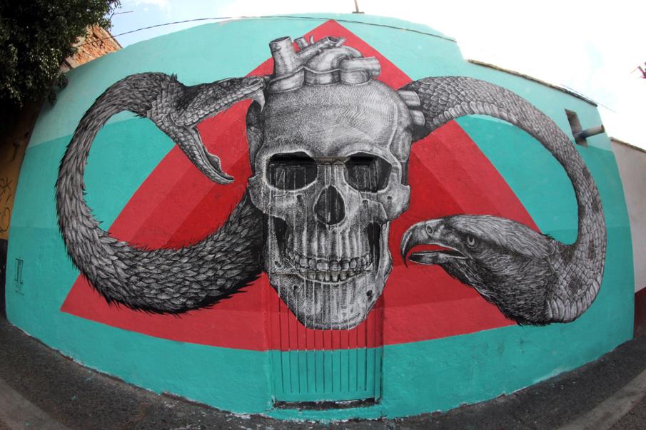 Как карандашом: граффити Алексиса Диаза (14 фото)