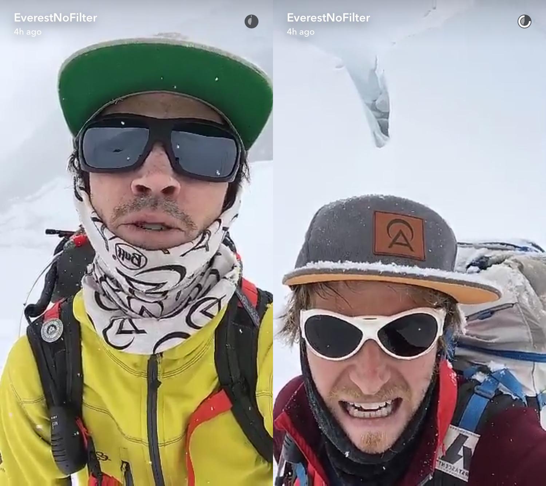 8 секретов от альпинистов, в прямом эфире показавших покорение Эвереста (5 фото)