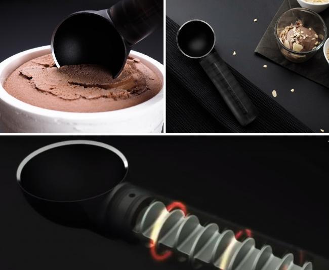 © THAT!  ScoopThat превращает укладку мороженого вкреманки или вафельные стаканчики всплошно