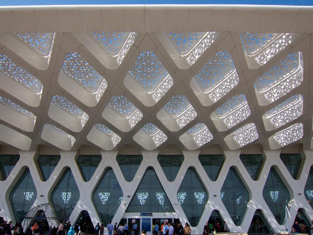 © wikimedia  Является одним изкрасивейших вмире аэропортов ииспользуется для внутренних, тр